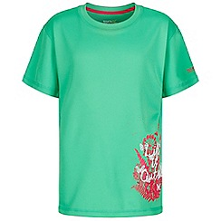 Regatta - Green 'Alvarado' kids print t-shirt