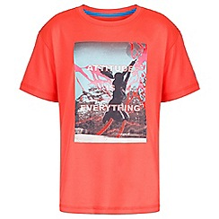 Regatta - Red 'Alvarado' kids print t-shirt
