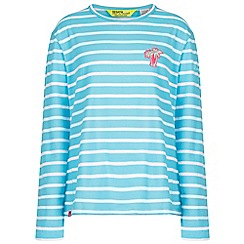 Regatta - Blue 'Carella' kids striped top