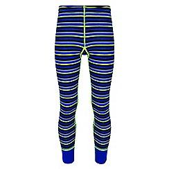 Regatta - Kids Blue 'Nessus' base layer legging