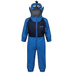 Regatta - Blue 'Charco' puddle waterproof suit