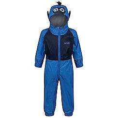 Regatta - Blue 'Charco' puddle waterproof suit