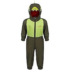 Regatta - Green 'Charco' puddle waterproof suit