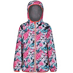Regatta - Multicoloured 'printed lever' kids waterproof jacket