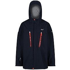 Regatta - Blue 'Hipoint' kids stretch waterproof jacket