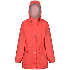 Regatta - Red 'Trifonia' kids waterproof parka