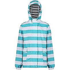 Regatta - Blue 'Betulia' kids waterproof jacket