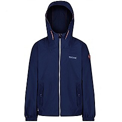 Regatta - Blue 'Henryson' kids waterproof jacket