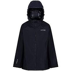 Regatta - Blue 'Gabiel' kids waterproof jacket