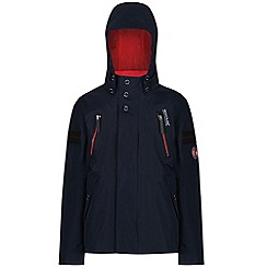 Regatta - Blue 'Saban' kids waterproof jacket