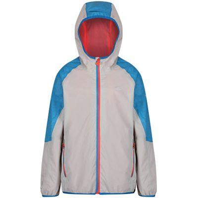 5359ab00e Regatta Grey  Teega  kids waterproof jacket