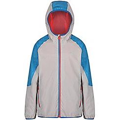 Regatta - Grey 'Teega' kids waterproof jacket