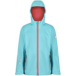 Regatta - Blue 'Feargus' kids waterproof jacket