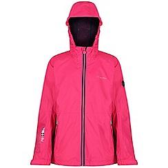 Regatta - Pink 'Feargus' kids waterproof jacket