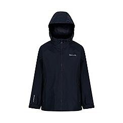Regatta - Blue kids 'pack it' waterproof jacket