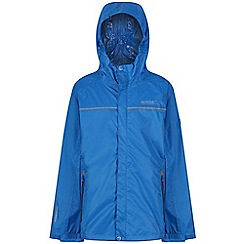 Regatta - Blue 'Disguize' kids waterproof jacket