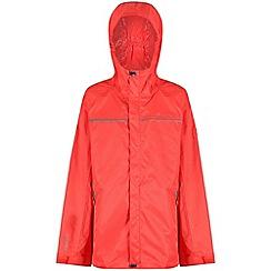 Regatta - Red 'Disguize' kids waterproof jacket