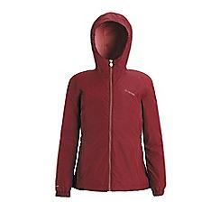 Regatta - Red 'Jacobina' girls waterproof hooded jacket
