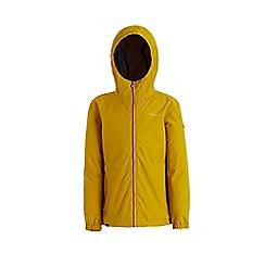 Regatta - Yellow 'Jacobina' girls waterproof hooded jacket