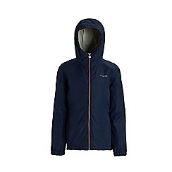 Regatta - Blue 'Jacobina' girls waterproof hooded jacket