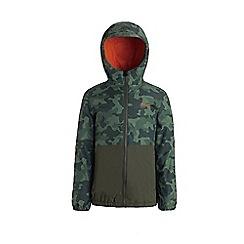 Regatta - Green 'Akiro' boys waterproof jacket