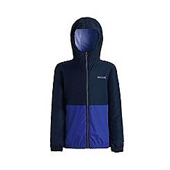 Regatta - Blue 'Akiro' boys waterproof jacket