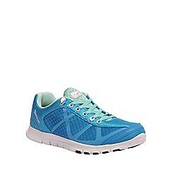 Regatta - Blue Hyper trail shoe