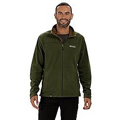 Regatta - Green 'Fairview' full zip fleece