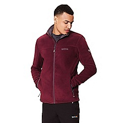 Regatta - Purple 'Stanton' full zip fleece