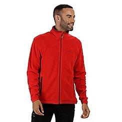 Regatta - Red 'Stanton' full zip fleece