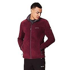 Regatta - Purple 'Stanton' full zip fleece