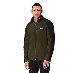 Regatta - Green 'Hedman' full zip fleece