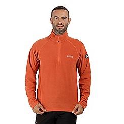 Regatta - Orange 'Montes' half zip fleece