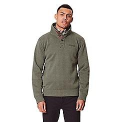 Regatta - Green 'Lucan' fleece sweater