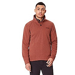 Regatta - Brown 'Lucan' fleece sweater