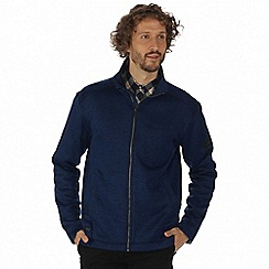 Regatta - Blue 'Braden' lightly textured fleece