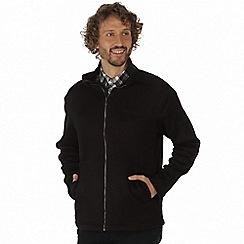 Regatta - Black 'Braden' lightly textured fleece