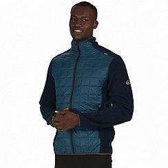 Regatta - Blue 'Chilton' hybrid fleece