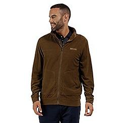 Regatta - Brown 'Ultar' full zip fleece