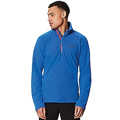 Regatta - Blue 'Kenger' half zip fleece