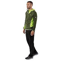 Regatta - Green 'Cartersville' hoodied fleece