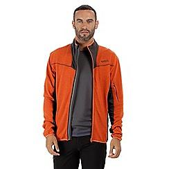 Regatta - Orange 'Collumbus' full zip fleece