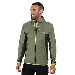 Regatta - Green 'Tarnis' fleece hoody