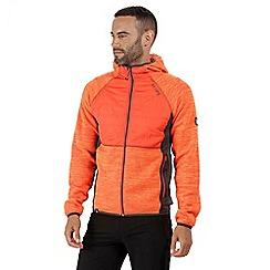 Regatta - Orange 'Rocknell' hybrid fleece hoody