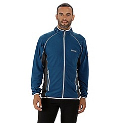 Regatta - Blue 'Mons' full zip fleece