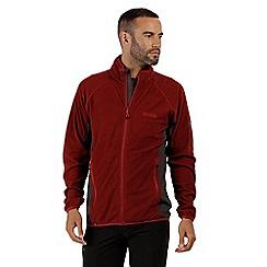 Regatta - Red 'Mons' full zip fleece