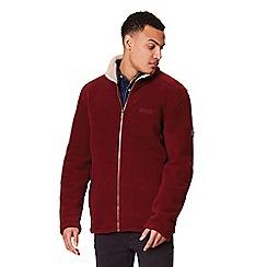 Regatta - Maroon 'Garrian' fleece sweater