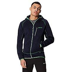 Regatta - Blue 'Cartersville' hooded fleece jacket