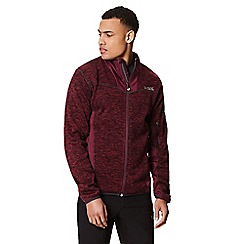 Regatta - Purple 'Collumbus' full zip fleece