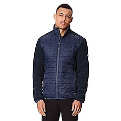 Regatta - Blue 'Chilton' hybrid quilted jacket